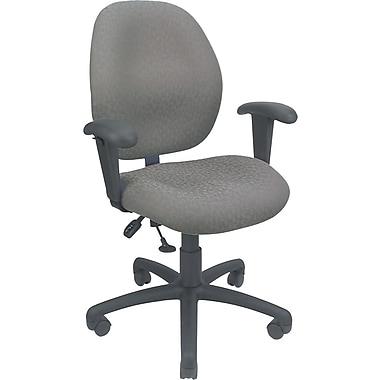 Global® Malaga Operator Chair, Silver Grey