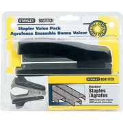 Stanley Bostitch Full-Strip Stapler Combo Pack, 20-Sheet Capacity