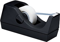 Staples® Desktop Tape Dispenser, Black