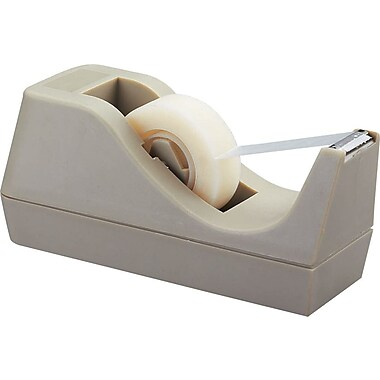 Staples Desktop Tape Dispenser, Putty, Each (10567-CC)