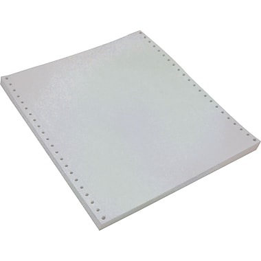 Staples® Multi-Part White Computer Paper, 3-Part, 9 1/2in. x 11in.