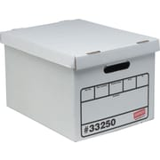 Staples Economy Storage Boxes, 10/Pack
