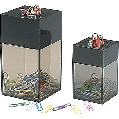 Staples® Small Magnetic Paper Clip Dispenser with 50 Clips