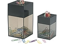 Staples® Large Magnetic Paper Clip Dispenser with 100 Clips