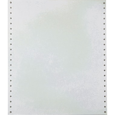 Staples® Recycled Blank White Computer Paper, 20 lb., 9 1/2in. x 11in.