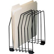 Staples Metal Level Desktop Sorter, 7 Compartments, Black (10483-CC)