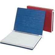 Acco Hanging Data Binders Presstex® Covers, Dark Blue, 14 7/8 x 8 1/2