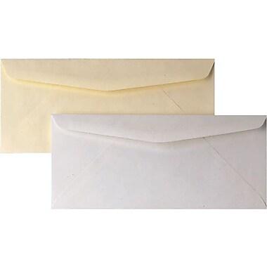 Staples® #10 Premium Diagonal-Seam Gummed Envelopes, 500/Box