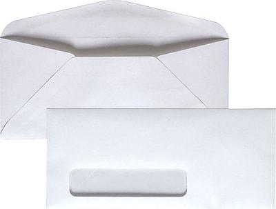 Staples Gummed Left Window #9 Envelopes, 500/Box