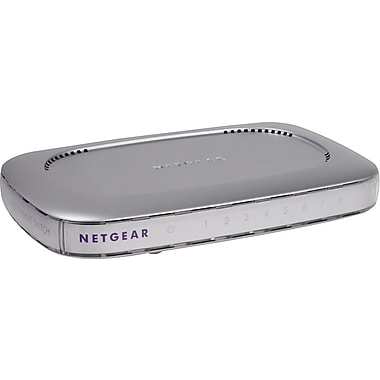 NETGEAR 8-Port Fast Ethernet Switch FS608