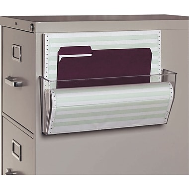 Staples® Magnetic Single Wall File Pockets, Oversize