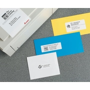 Avery® 2160 Mini-Sheets™ White Inkjet/Laser Address Labels, 1 X 2-5/8, 200/Box