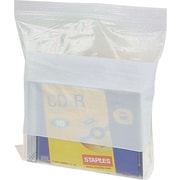 ® White Block Recloseable 4-Mil Poly Bags, 8 x 10