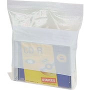 ® White Block Recloseable 2-Mil Poly Bags, 8 x 10