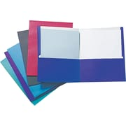 Staple® 2 Pocket Folder Assorted Colors