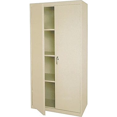 Sandusky Standard Storage Cabinet, 72in.H, Putty