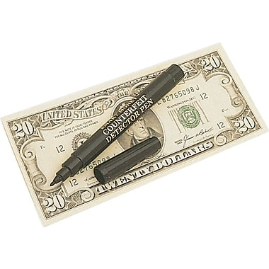 Dri Mark® Counterfeit Money Detector Pens, 3/Pack