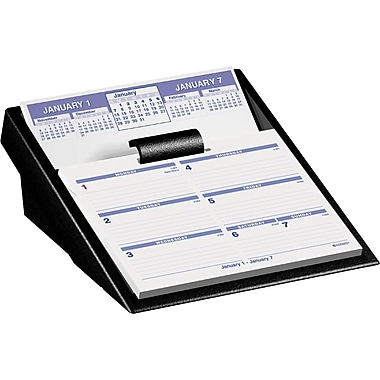 2013 AT-A-GLANCE® Flip-A-Week® Desk Calendar Refill, 5-5/8in. x 7in.