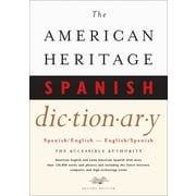 Houghton Mifflin American Heritage® Hardbound Spanish/English Dictionary