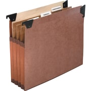 Pendaflex® Premium Reinforced Expanding File Pockets with Swing Hook, Legal, 5/Box