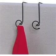Safco Panelmate Cubicle Coat Hooks, Black, Each (4148CH)