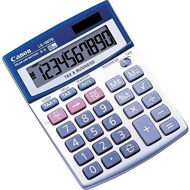 Canon LS-100TS Financial Calculator