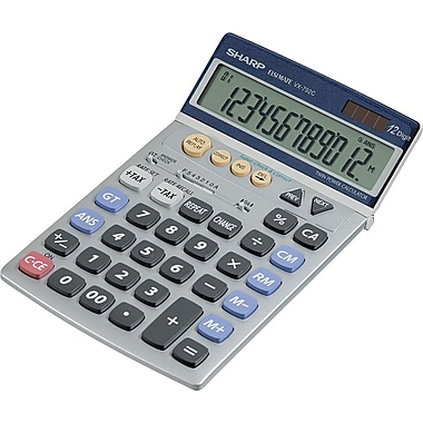 Sharp VX-792C 12-Digit Display Calculator