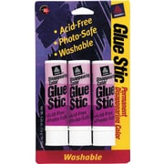 Avery Colored Glue Stics .26 oz, 3 Pack