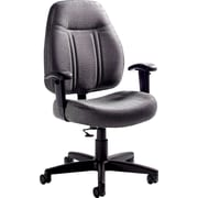 Global Deluxe Office Fabric Chair, Shadow
