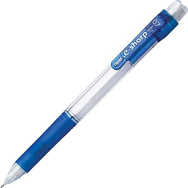 Pentel Recycled e-sharp Automatic Pencils .7mm, Blue, Dozen