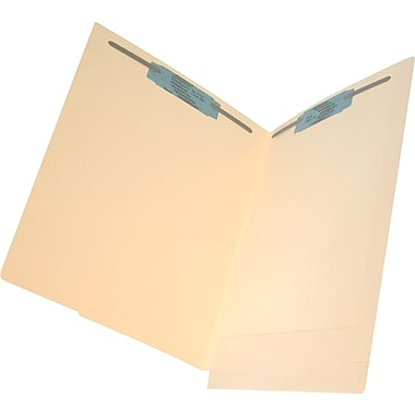 Ames Color-File® 11pt. Side-Tab Self Expansion Folders with Two 2in. Bonded Fasteners, 500/Box