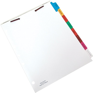 Ames Color-File® Printed Chart Divider Sets