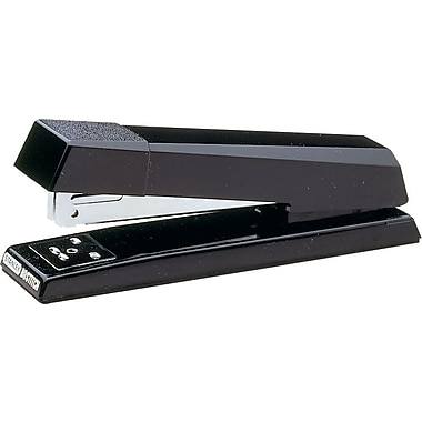 Stanley Bostitch® No-Jam™ Premium Full Strip Stapler, 20 Sheet Capacity, Black