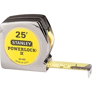 Stanley® PowerLock® Heavy-Duty 25' Tape Measure