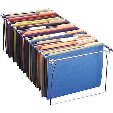 OIC® Hanging File-Folder Frames, Legal, 6/Pack