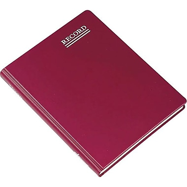 Red Vinyl Record Book