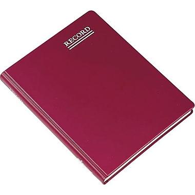 Red Vinyl Record Book