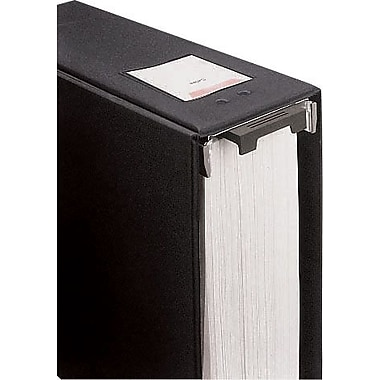 Wilson Jones Large-Capacity 2in. Hanging Post Binder, Black