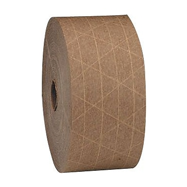 Intertape® Medallion Reinforced Tape, 70mm x 450', Kraft, 10/Case