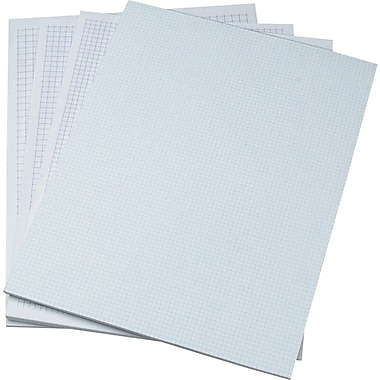 Ampad Evidence® Heavyweight Quadrille Pads, 8-1/2in.x11in.
