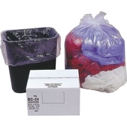 Webster Classic® Clear Trash Bags, .6 mil, 7-10 Gallon, 500/Carton