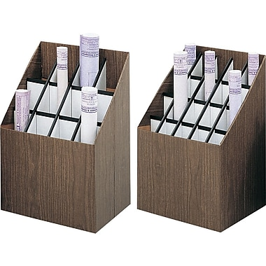 Upright Roll File, 20-Roll Capacity