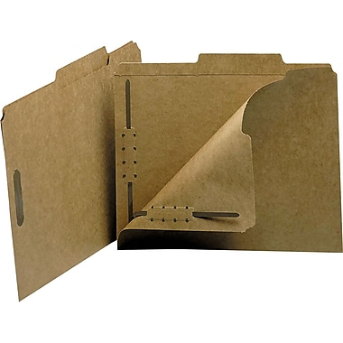 Smead® Guide-Height Kraft Fastener Folders, Letter, 50/Box