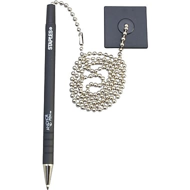 Staples Anchor Pen, Medium Point, Black