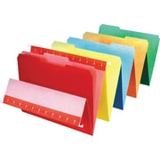 Pendaflex® Colored Interior File Folders, Letter, Assorted, 100/Box