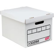 Staples Economy Storage Boxes, Letter/Legal Size, 10 Pack
