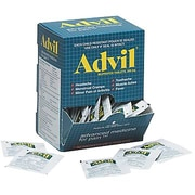 Advil Coated, 50 Packets of 2 Tablets
