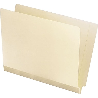 Pendaflex Manila Laminated Reinforced End-Tab Folders, Letter, 100/Box