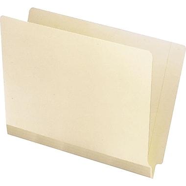 Pendaflex Manila Laminated Reinforced End-Tab Folders, Letter, 100/Box