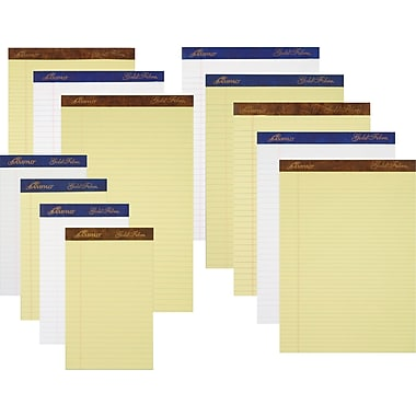 Ampad® Gold Fibre® 16 lb.  Perforated Writing Pads